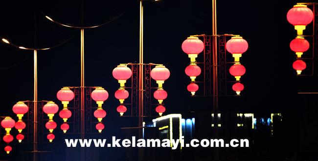 红红火火庆祝新中国成立70周年